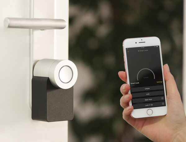 Smart lock for home security